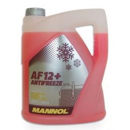 Płyn do chłodnic zimowy MANNOL AF12+ G12 -40 5L rożowy