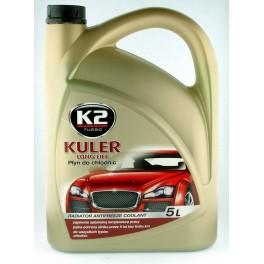 Płyn do chłodnic ZImowy KULER K2 -35 5L Czerwony G12