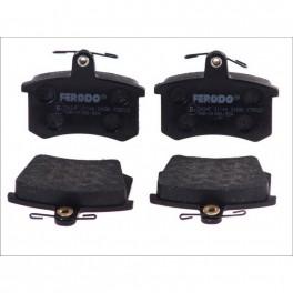 Klocki hamulcowe tył FERODO FDB222 Audi 80 100 A4 A6 A8 Alfa 164