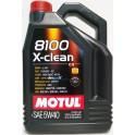 Motul 8100 X-Clean C3 5W40 5L 505.01BMW LL-04 FORD 917A RN0710