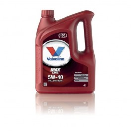 Valvoline Maxlife 5W40 4L Full Synthetic