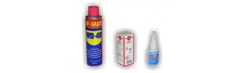 Spraye, Odrdzewiacze, Odtłuszczacze